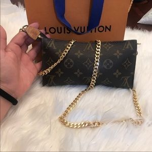 Louis Vuitton Vintage Pouch/ Crossbody/ Wallet